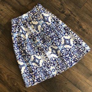 Dresses & Skirts - Spanish Tile Print Skirt | Small